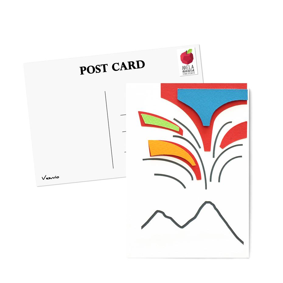 Cartolina - Vesuvio