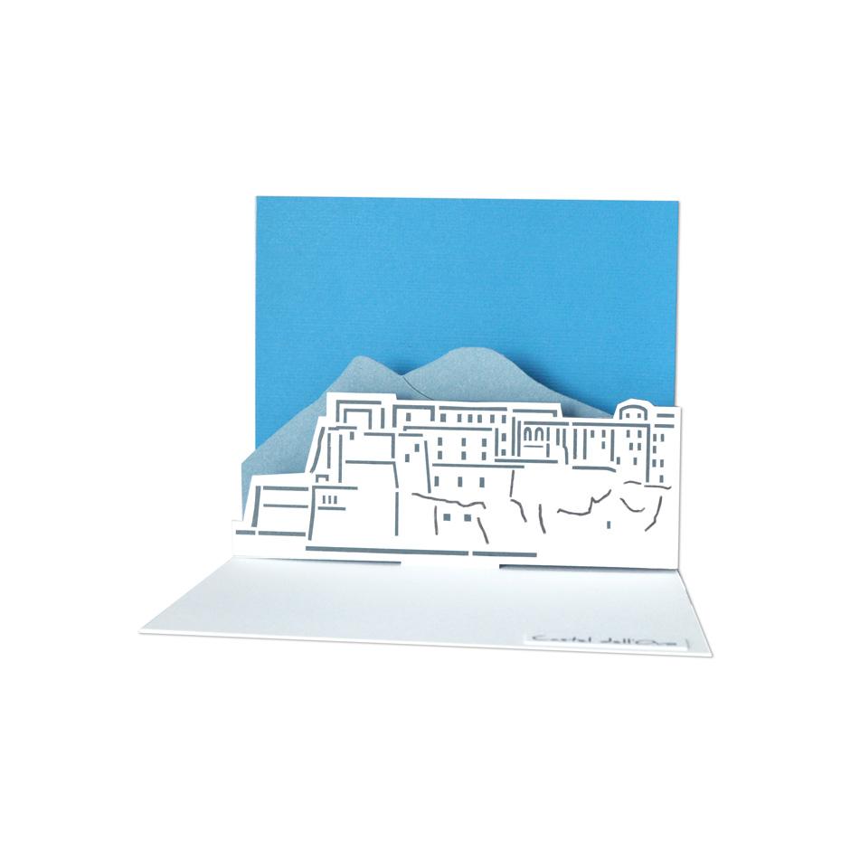 Biglietto pop-up Napoli in tasca - Castel dell'Ovo
