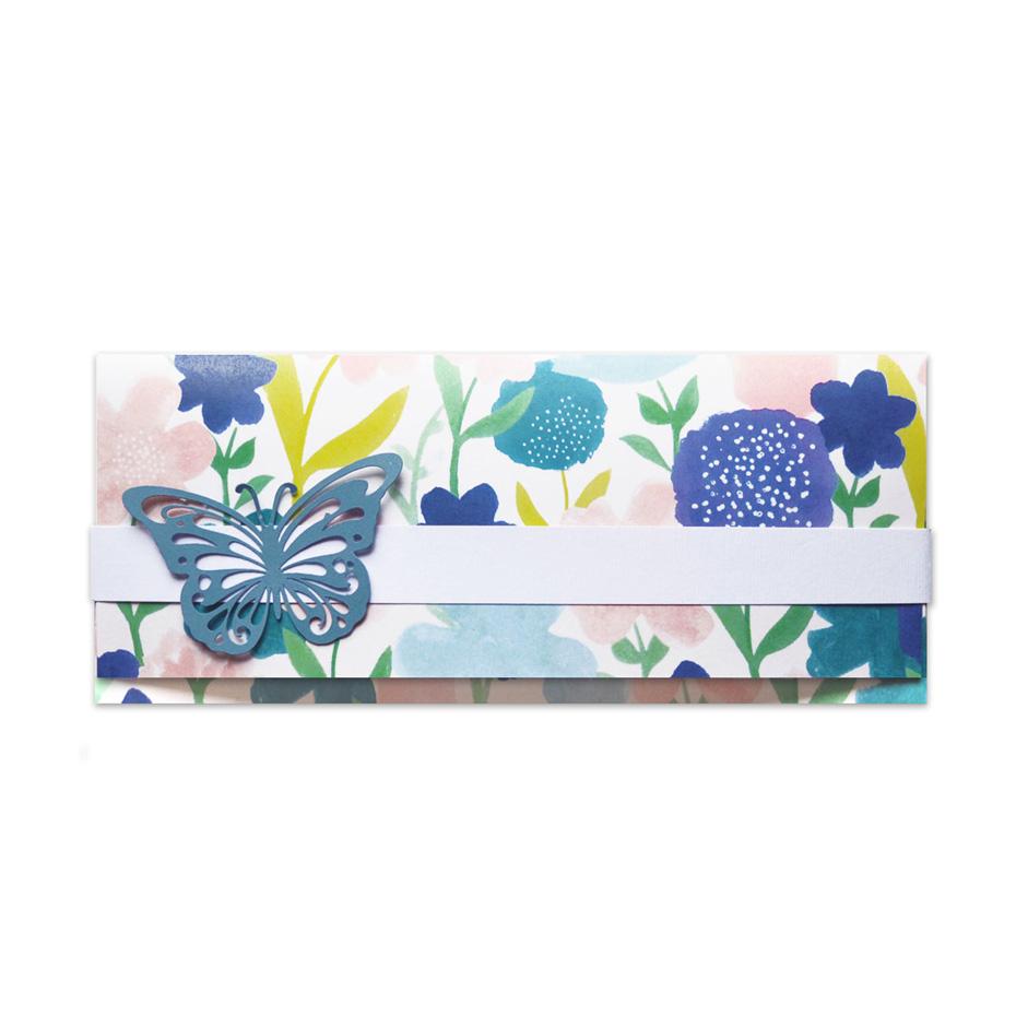 Portasoldi - Farfalla blu