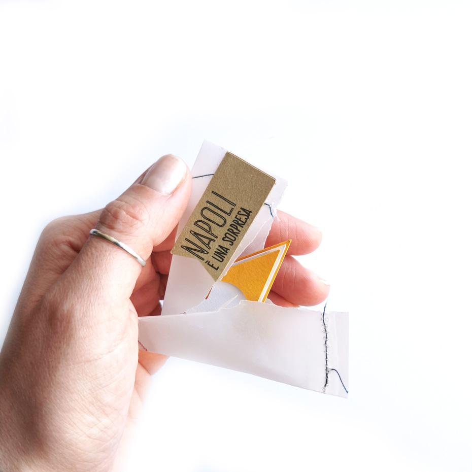 Magnete - portafortuna - Faccia gialla