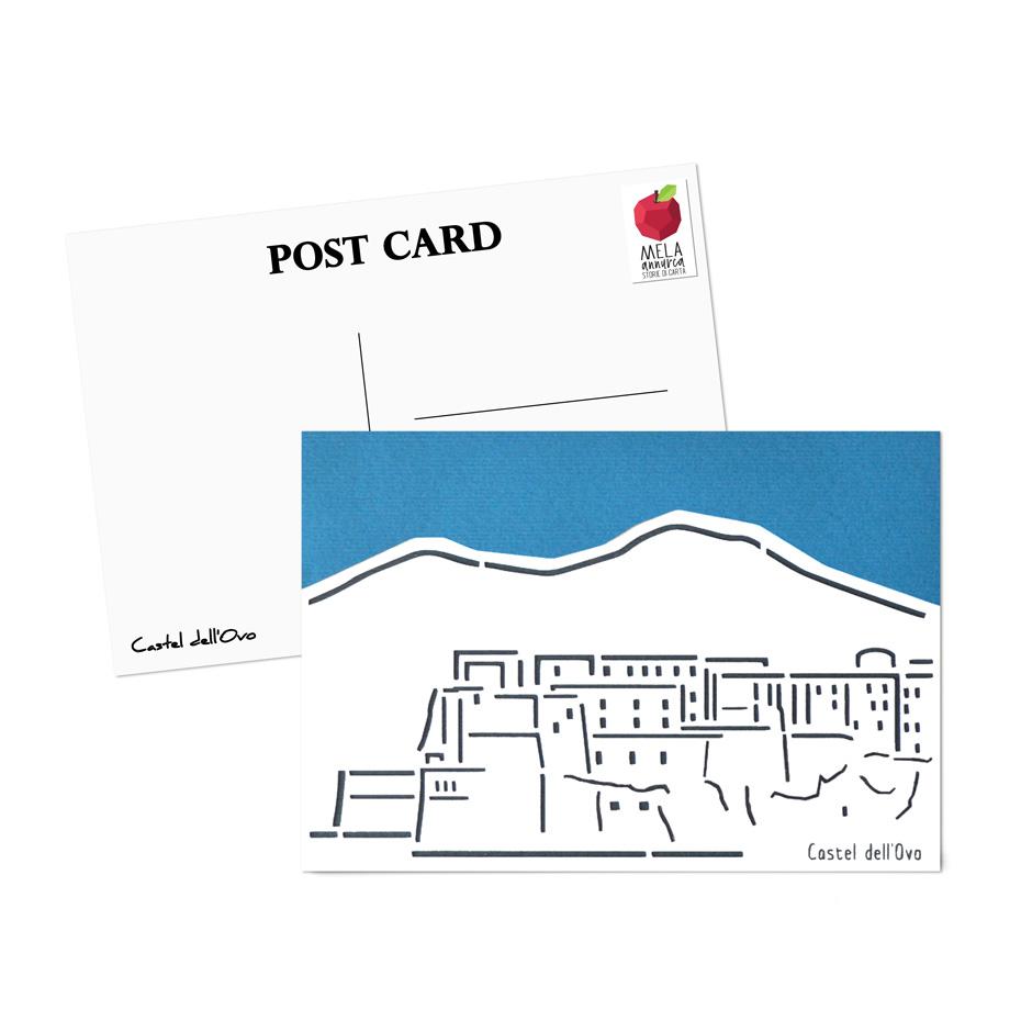 Cartolina - Castel dell'Ovo