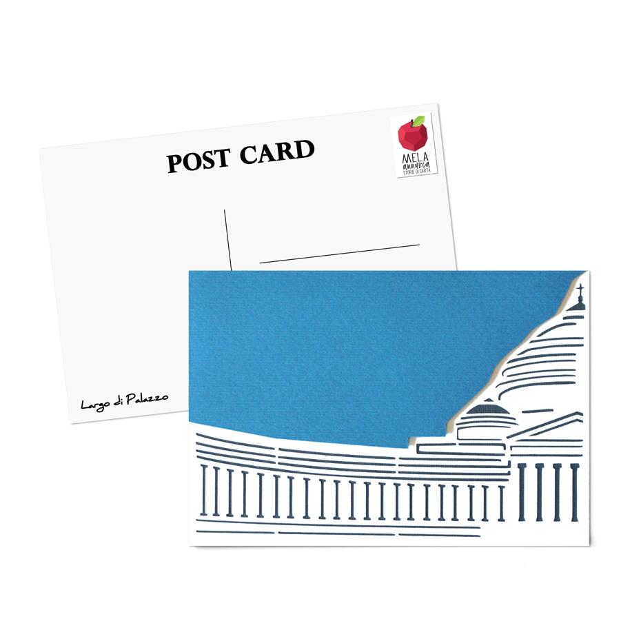 Cartolina - Largo di Palazzo