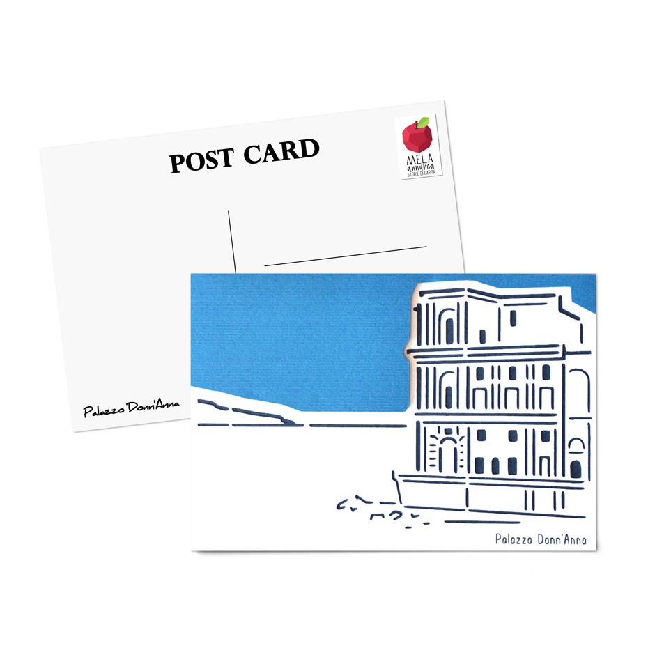 Cartolina - Palazzo Donn'Anna