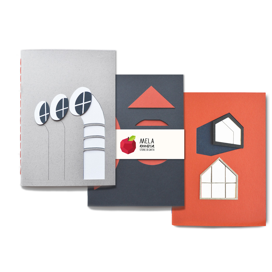 Set da tre sketchbook - amante dell'Architettura fine '900